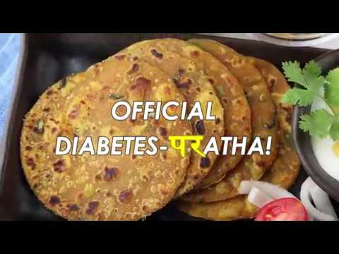 Diabetic Diet | Paratha for Diabetics | Manage Diabetes Naturally | Healthy Recipes