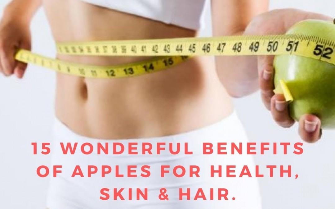 15 Wonderful Benefits Of Apples For Health, Skin & Hair I Diabetes Health Free