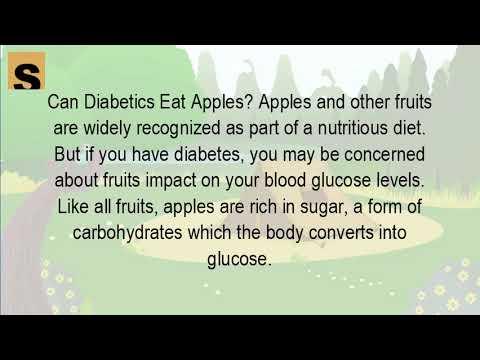 Can diabetics eat green apples