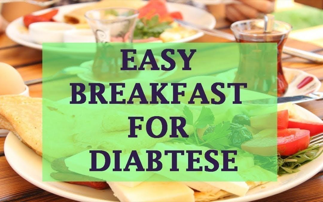 Diabetes Diet: 7 Easy Breakfast Ideas for Type 2 Diabetes