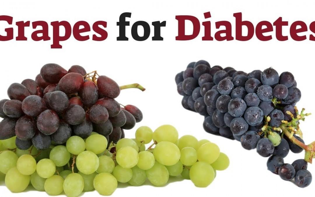Grapes Benefits for Diabetes Patients