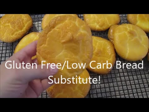 Oopsie Roll Bread Substitute Recipe, Low Carb/Gluten Free