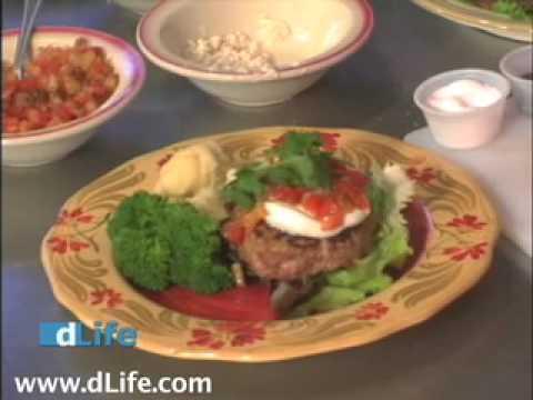 Diabetic Recipes – Low Carb Burger