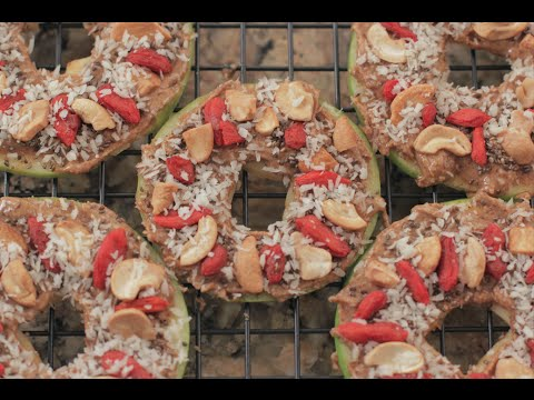 How to make DIY Diabetic Green Apple Cookies Super Bowl 2015 | Health Reset Meals
