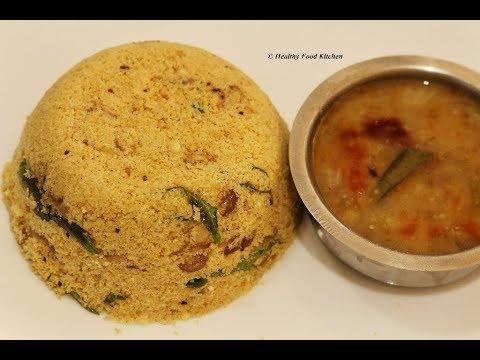 Instant Breakfast Recipe-Diabetic Recipe-Chola Puttu Recipe-Puttu Recipe in Tamil-Jowar Puttu Recipe