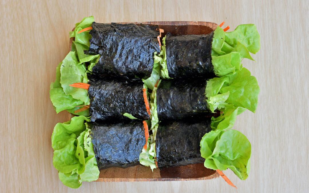 Salmon Seaweed Wraps – Diabetes Self-Management