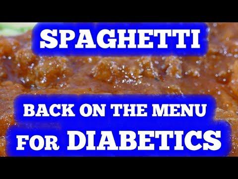 Spaghetti: Back on the Diabetic Menu! – You can eat spaghetti and keep blood sugar low!