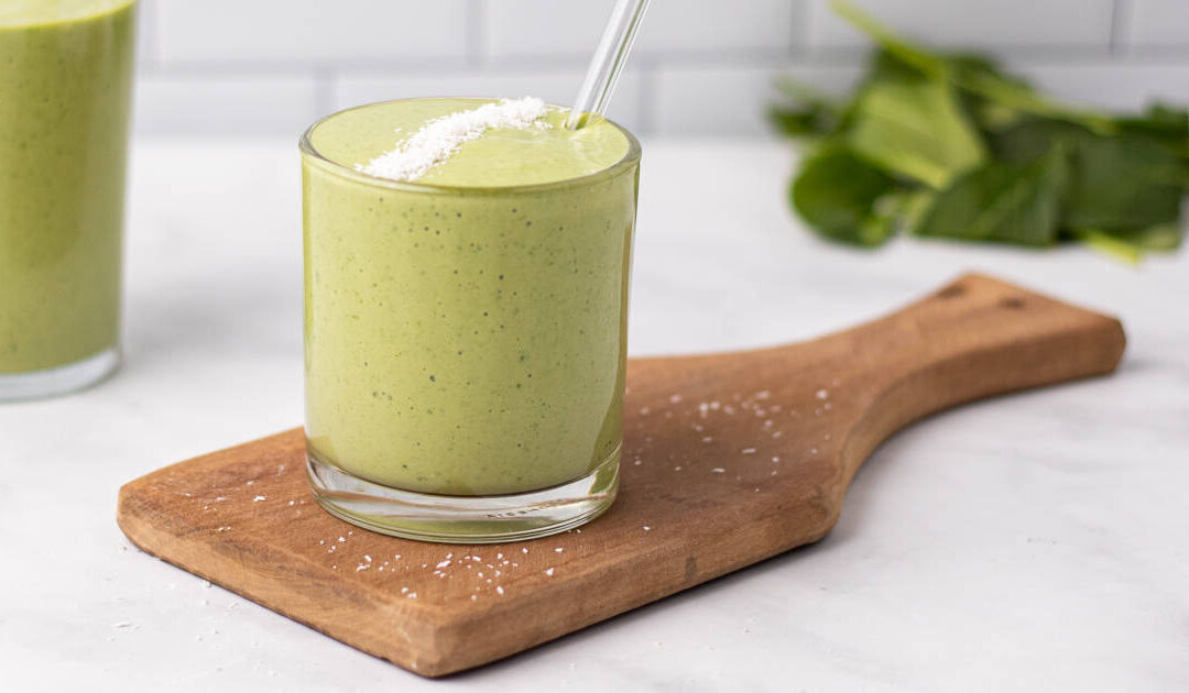 Spinach Smoothie (Low-Carb & Gluten-Free)