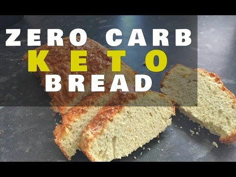 Zero Carb Keto Bread Loaf