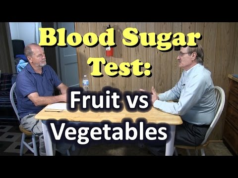 Blood Sugar Test: Fruit vs Vegetables – You can beat diabetes!
