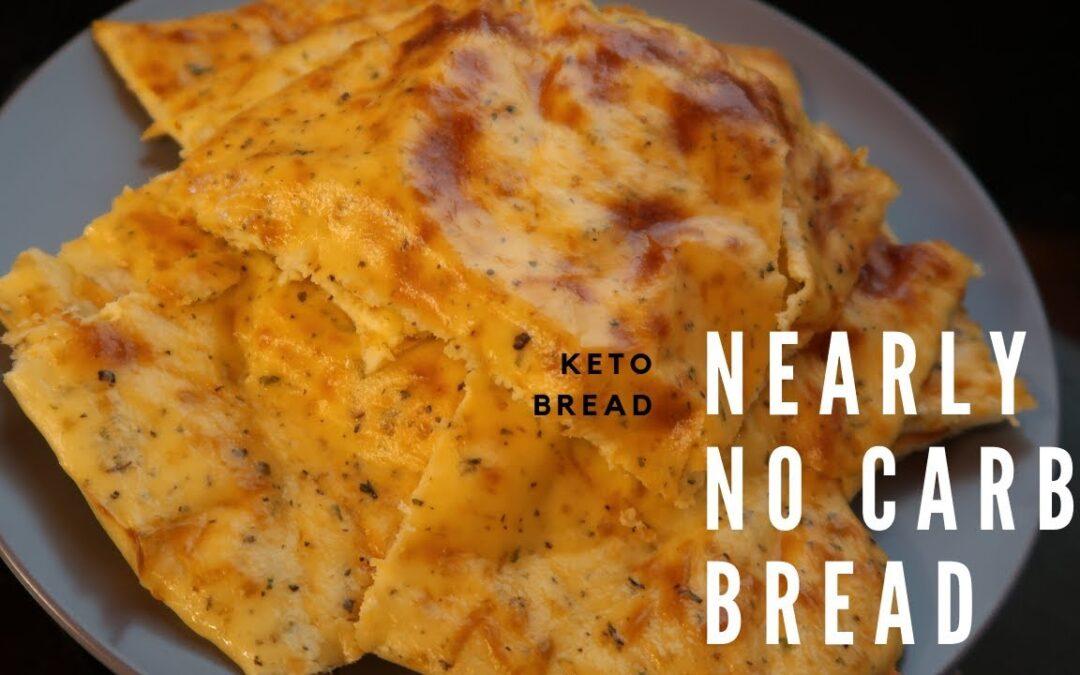 KETO BREAD | NEARLY NO CARB BREAD | EASY KETO RECIPE