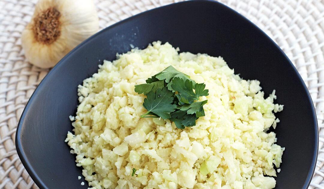 Low-Carb Cauliflower Rice – Diabetic Foodie
