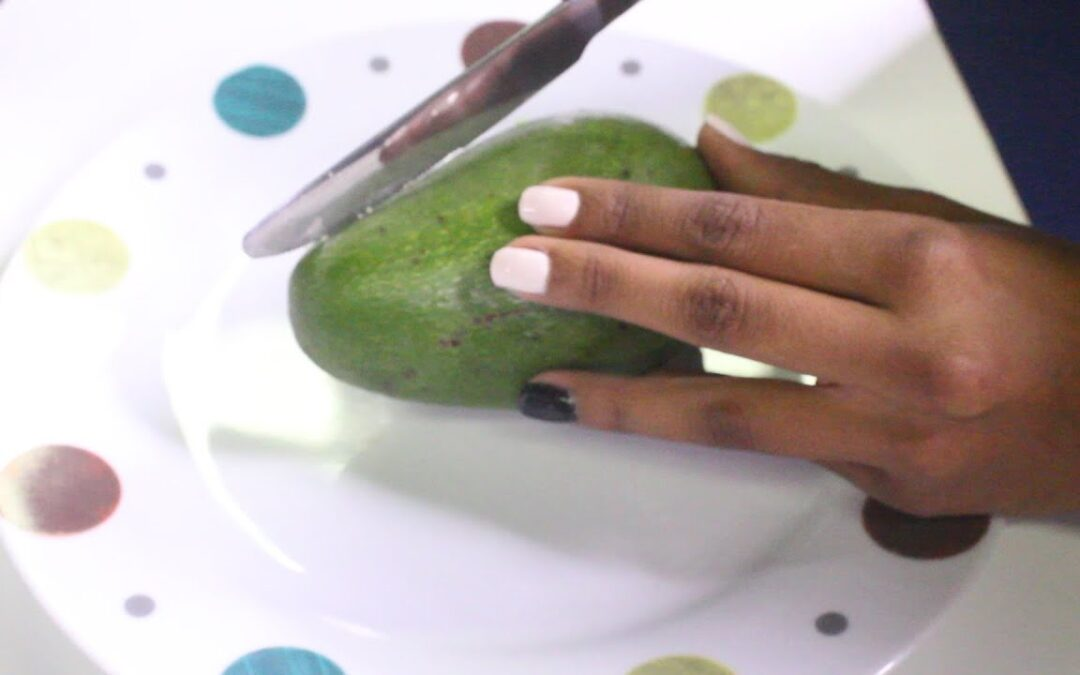 WATCH: How to eat an avocado seed