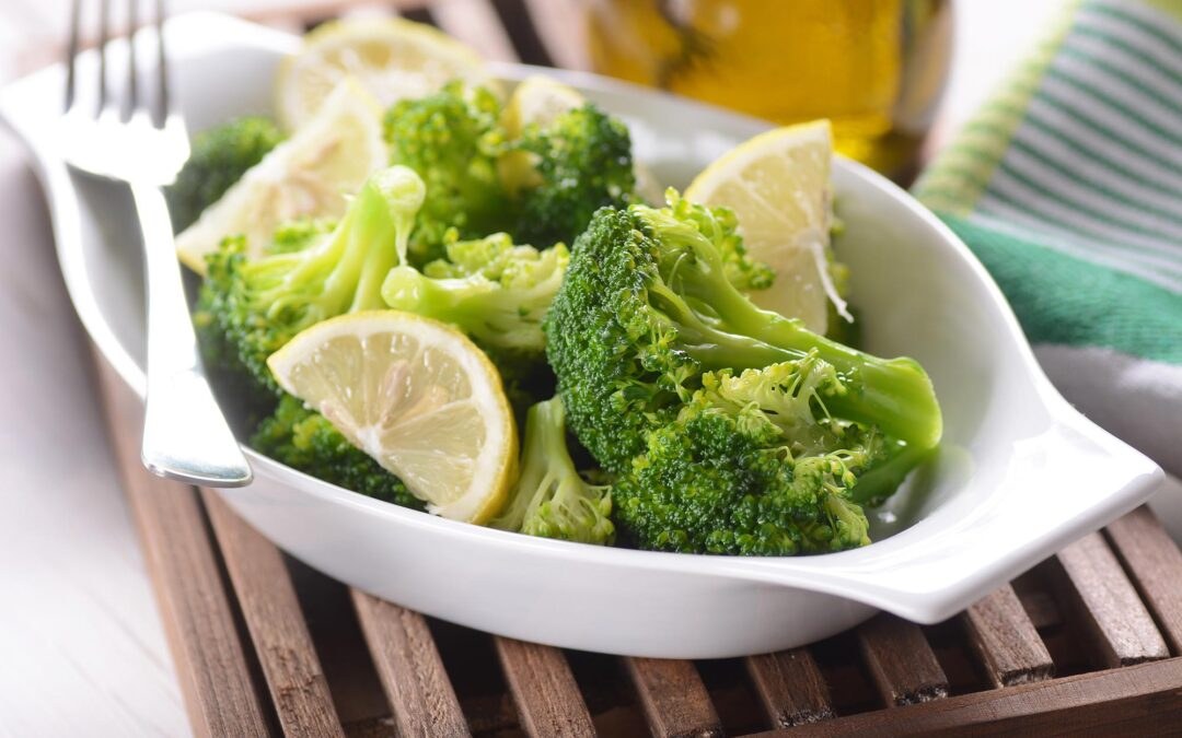 Lemony Steamed Broccoli – Diabetes Self-Management