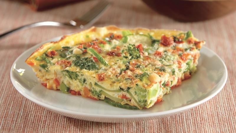 Zucchini-Tomato Frittata – Diabetes Self-Management